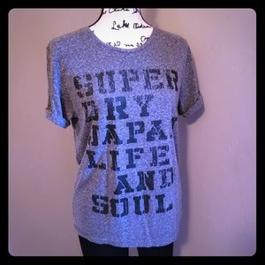 Grey Superdry Tee